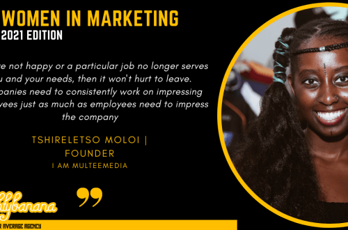 Tshireletso Moloi, LinkedIn, Women In Marketing (Black)