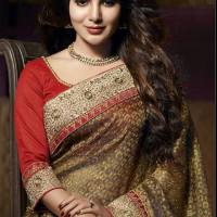 birthday special feature - samantha in saree hd photoshoot