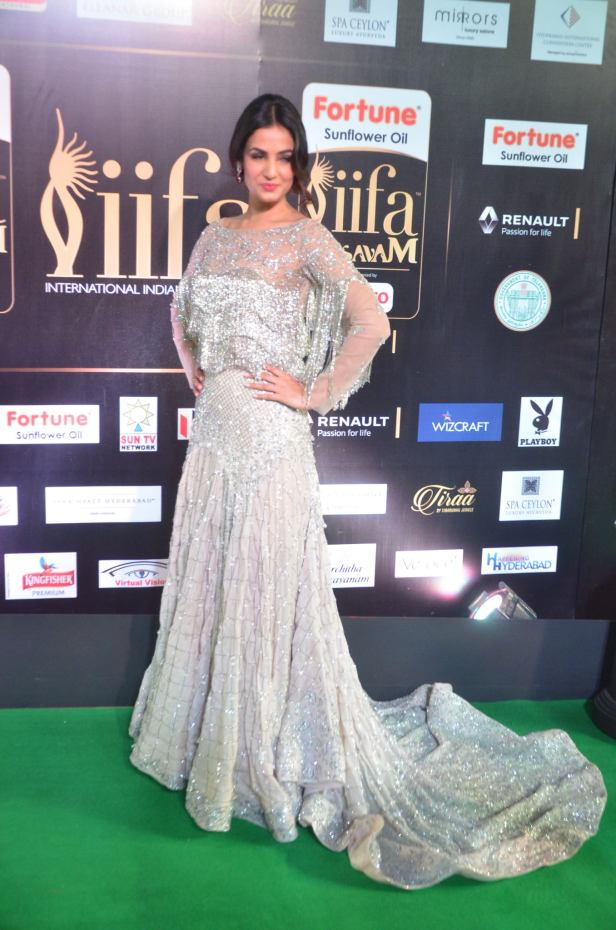 sonal chauhan hot at iifa awards 20175