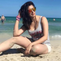 laxmi rai recent hot beach photos