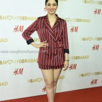 tamanna latest glam pics at H&M