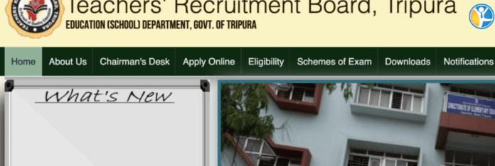tripura teacher recruitment