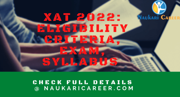 xat 2022 application form