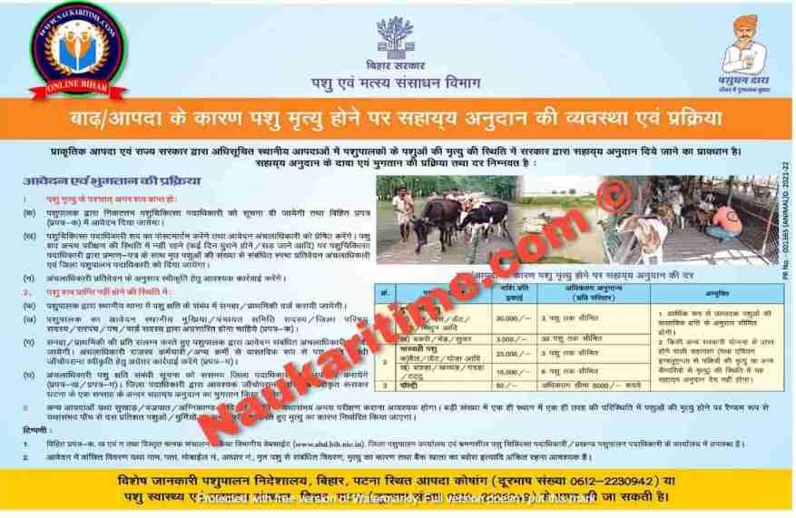 Bihar Badh Rahat Sahayata Yojana2021