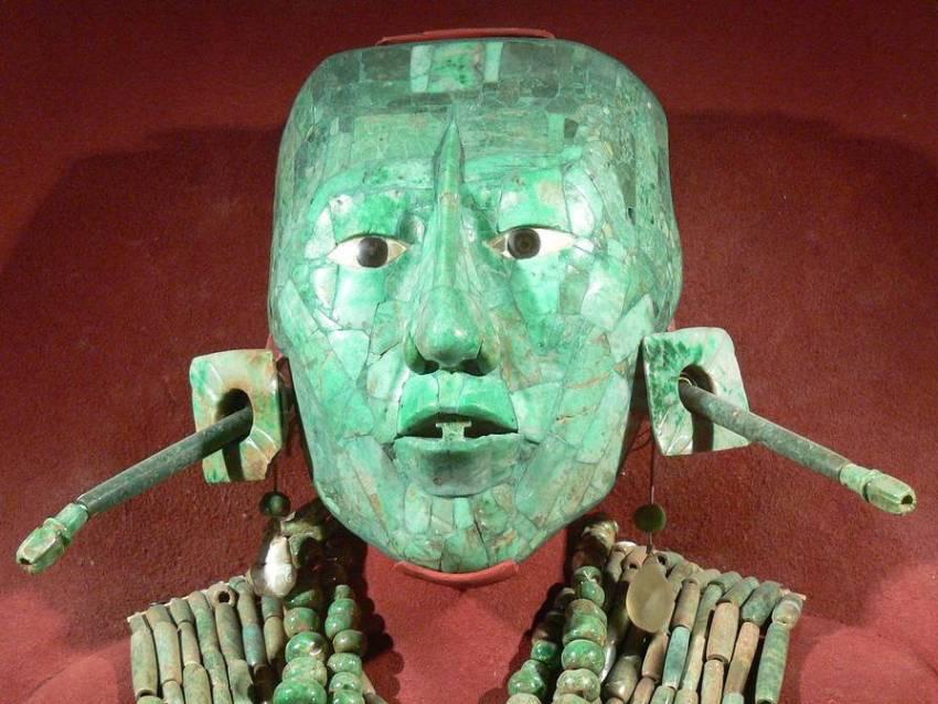 Погребальная маска Пакаля