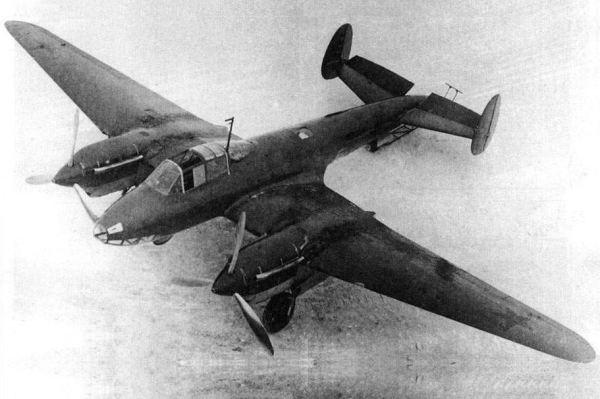 Пикирующий бомбардировщик Петляков Пе-2 – испытания и ...