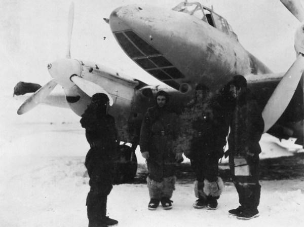 Совершенствование пикирующего бомбардировщика Петляков Пе ...