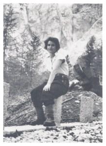 młoda Rosalind Franklin