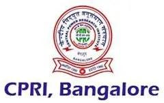 CRPI Bangalore Recruitment