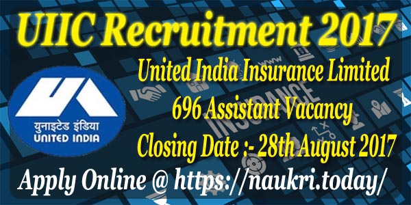 UIIC Recruitment 2017