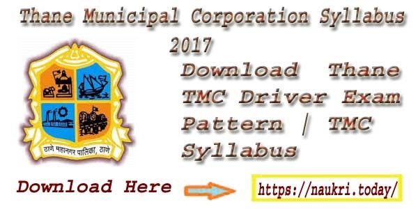 Thane Municipal Corporation Syllabus 2017