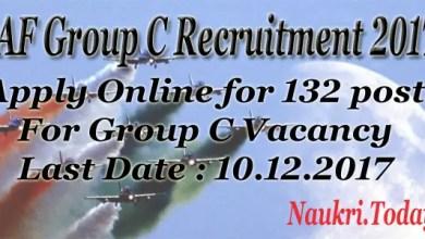 IAE Group C Recruitment