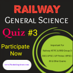 Railway General science quiz