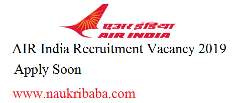 air india vacancy 2019
