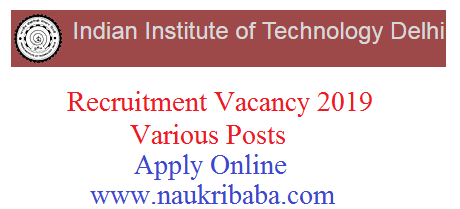 iit recruitment vacancy 2019 apply online