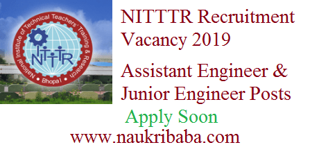 ntttr recruitment vacancy 2019