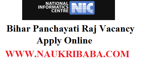 BHAR PANCHAYATI RAJ RECRUITMENT VACANCY 2019
