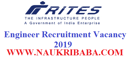 RITES RECRUITMENT APPLY SOON