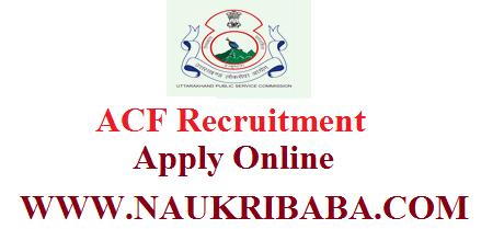 ukpsc acf vacancy 2019 apply soon