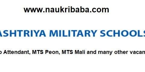 Apply for LDC, Lab Attendant, MTS Peon, MTS Mali Vacancies in Rastriya Military School