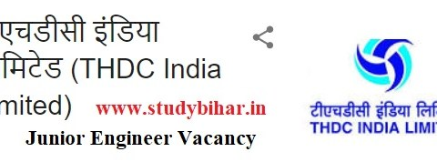 Apply for Junior Engineer Vacancy in THDC India, Last Date-28/02/2021.