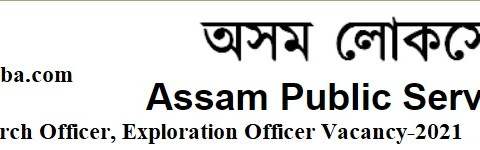 Apply- Assistant Research Officer, Exploration Officer Vacancy in APSC, Last Date-23/04/2021.