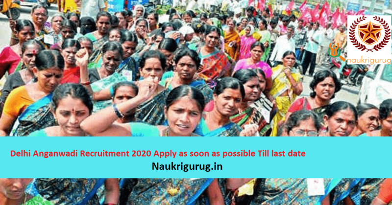 Delhi-Anganwadi-Recruitment 2020