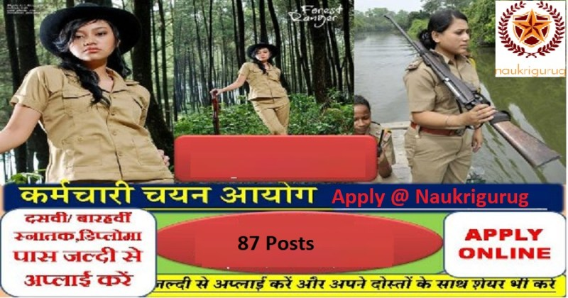 Rajasthan forest guard Recruitment 2021