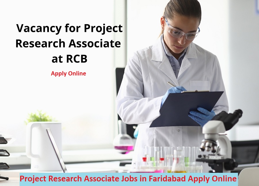 Project Research Associate Jobs in Faridabad