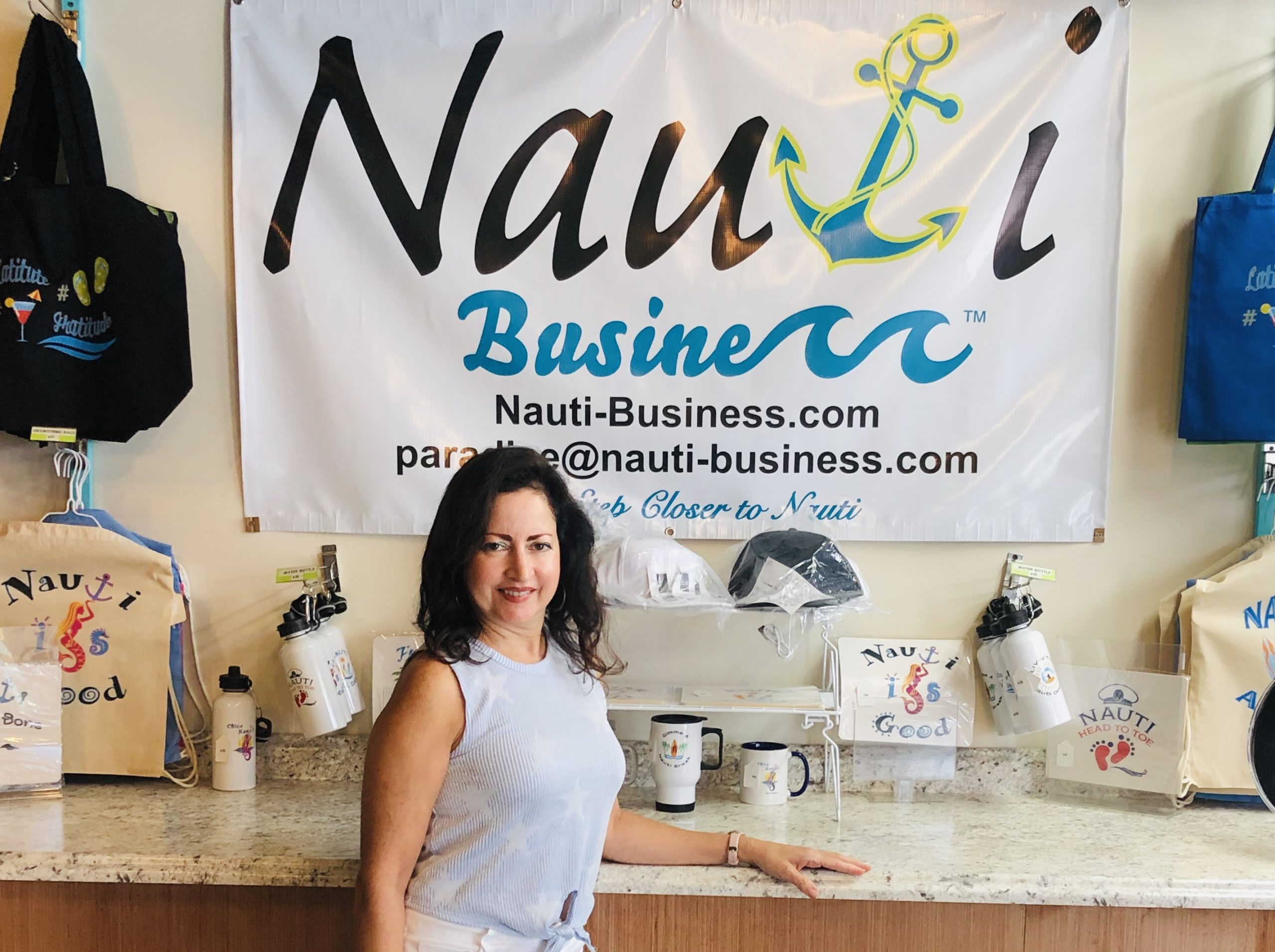 Mary at Nauti Business