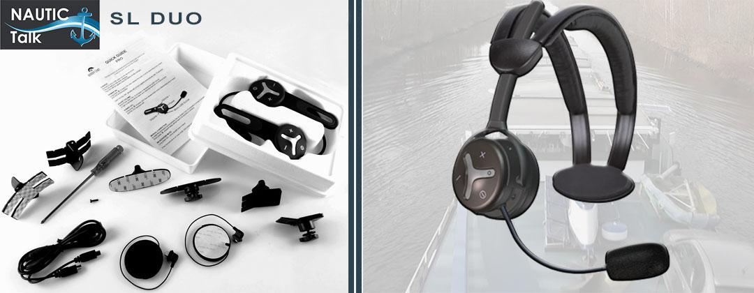 Nautic Talk SL-Serie Duo, Bluetooth Freisprechanlage für 2 Teilnehmer