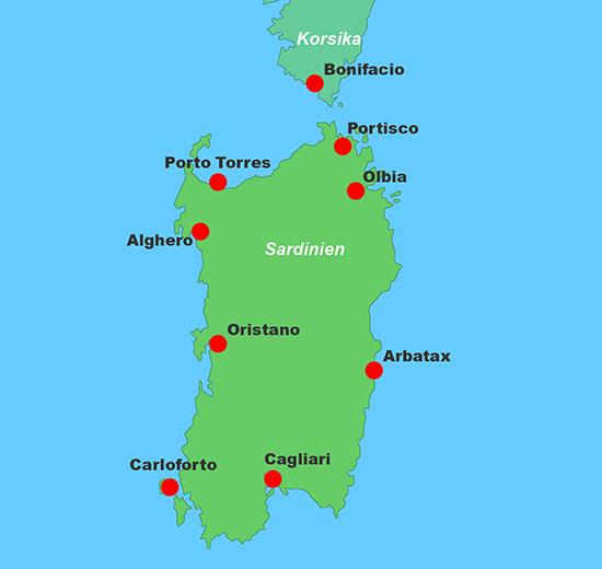 Yachtcharter Sardinien Segelyachten Und Katamarane
