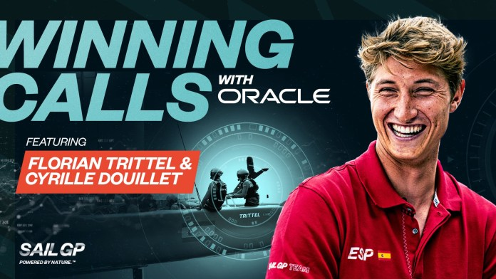 Winning Calls with Oracle summons the Spanish SailGP