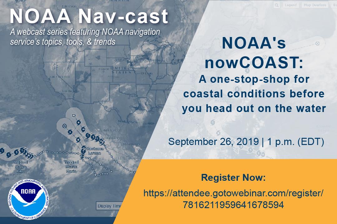 Image announcing Nav-cast webinar.