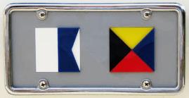 Custom Two flag