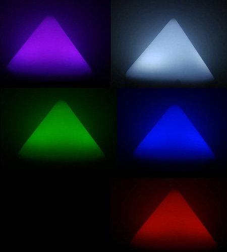 One (1) RGB Color Changing Illuminating Dock Piling Cap (2.5 Watts Each) …