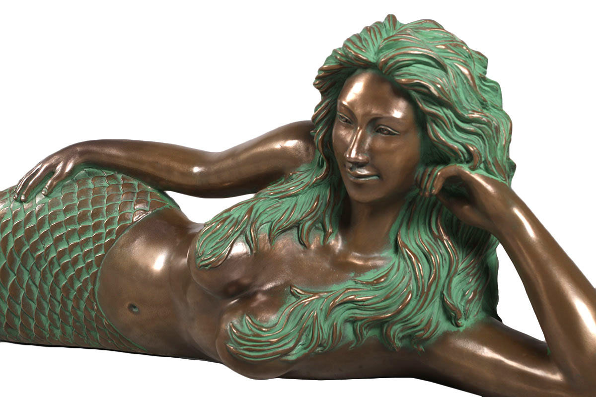 Category:Bronze Product:Mermaid Store:Nautical Tropical