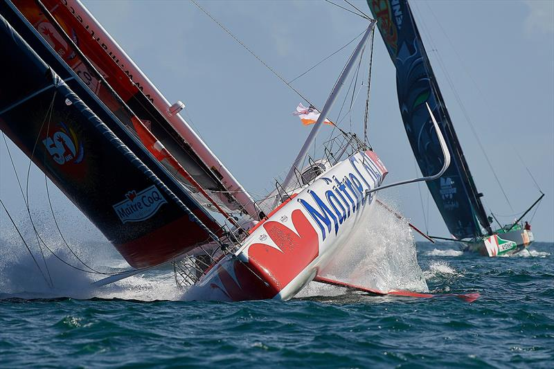 vendee arctic les sables d olonne a new race for the imoca boats july 2020 nautic magazine