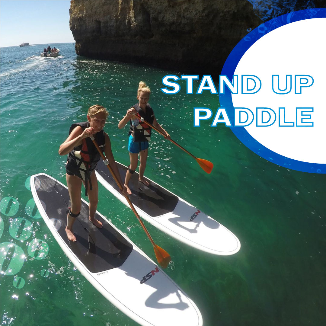 Venha connosco nos nossos passeios de stand up paddle às grutas da nossa costa. Join us in our stand up paddle tours and check the caves nearby. #nautifun #praiadagale #standuppaddle #albufeira #algarve #desportosnauticos #watersports #summer #sea