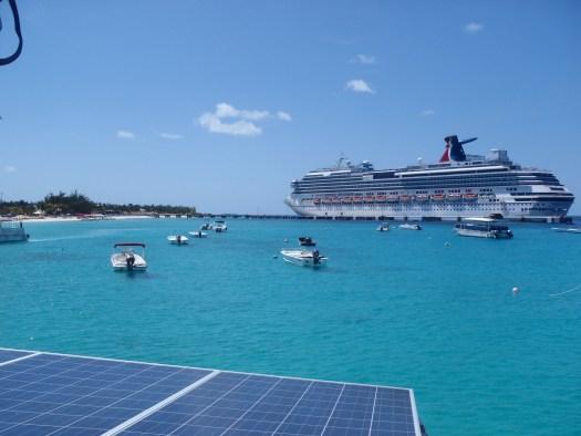 Cruiseship terminal at Grand Turks