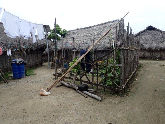 Guna home in San Ignacio