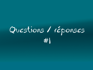 question reponse #1