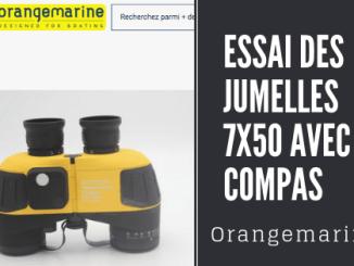 Essai des Jumelles orangemarine test