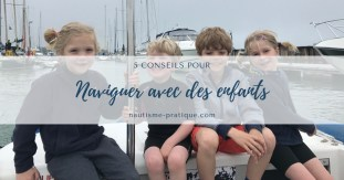 naviguer avec des enfants croisière en famille