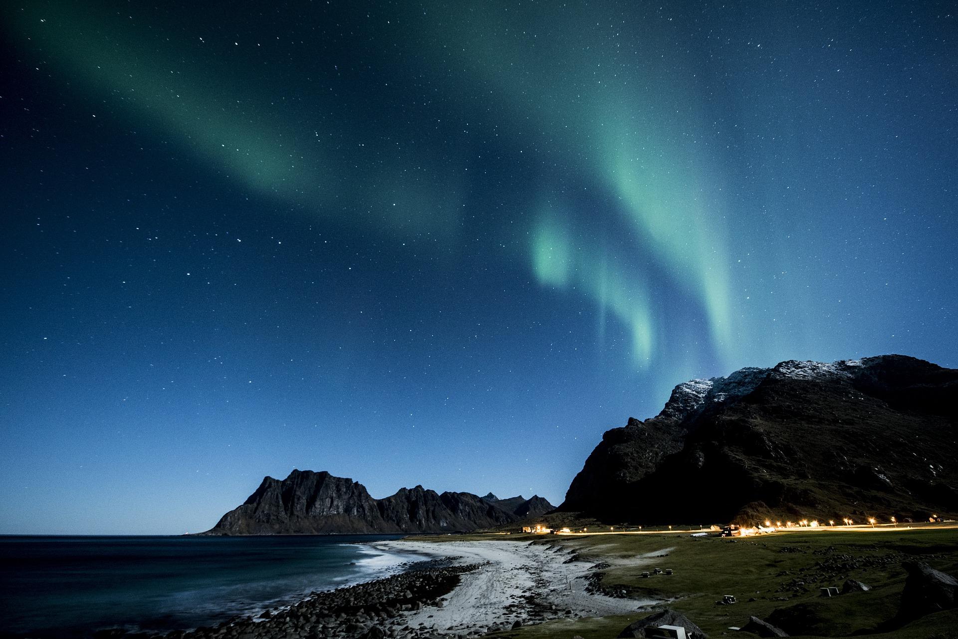 aurore boréale croisiere fjord