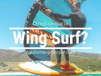 Wing Surf sport de glisse