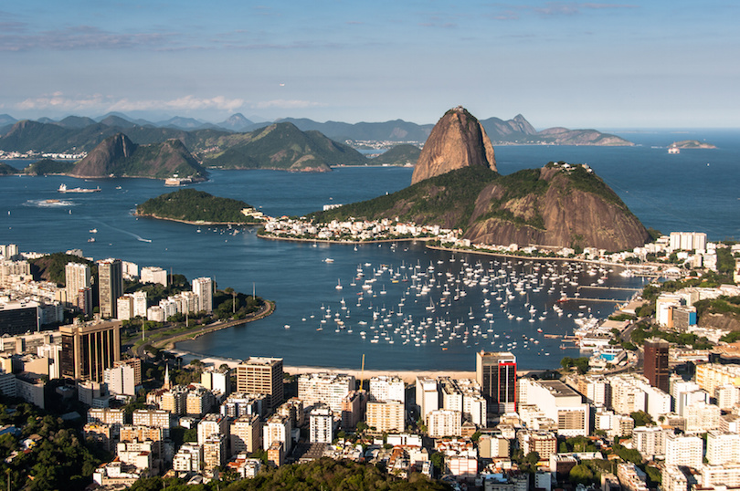 la baie de Rio de Janeiro
