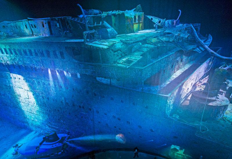 Resultado de imagen para restos del titanic