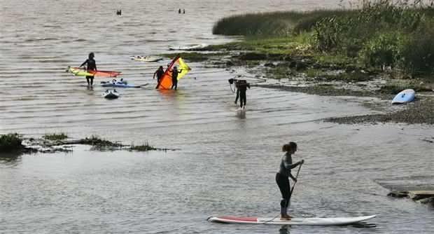 Acassuso: la costa de las más contaminadas del Río de la Plata