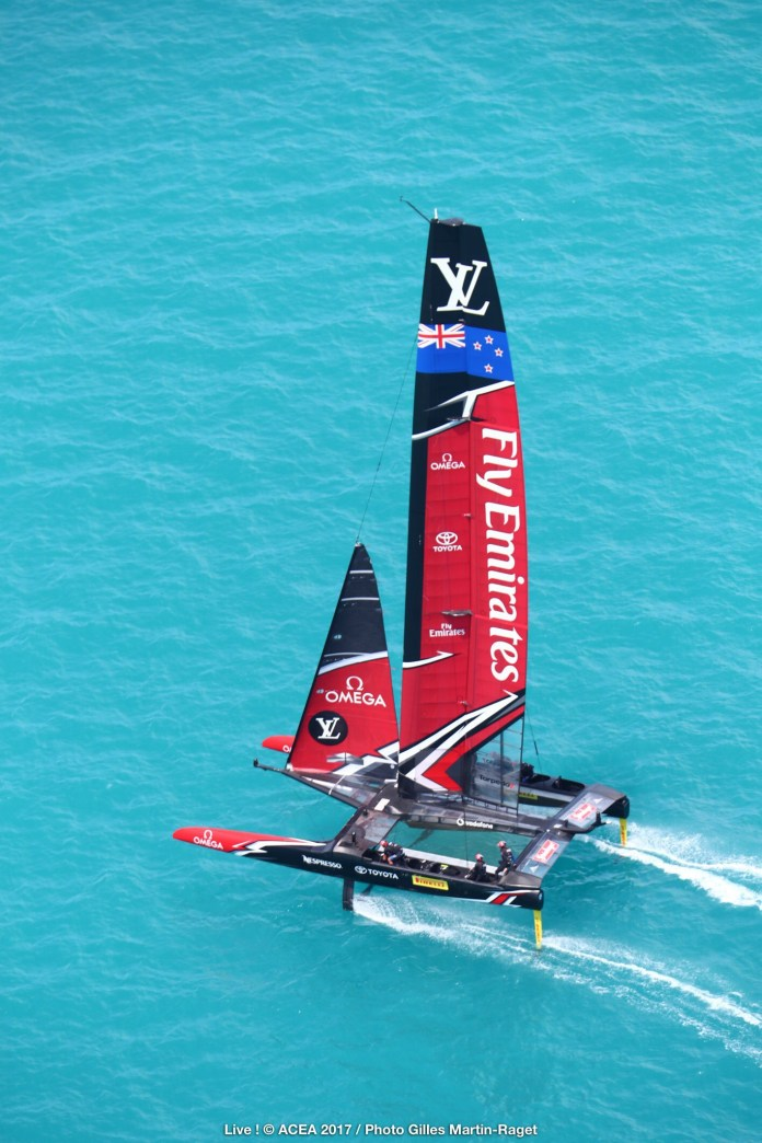 EMIRATES TEAM NEW ZEALAND WIN THE 35th AMERICA'S CUP